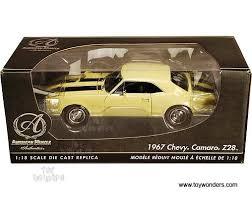 1967 camaro diecast amazon com 39305yl rc2 ertl authentics chevy camaro rs ss 1967