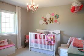 Nursery Chandelier Baby Nursery Decor Pink Colors Nursery Room Ideas For Baby