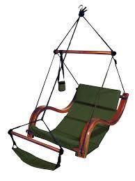 How To Hang A Hammock Chair Indoors Amazon Com Hammaka Nami Deluxe Hanging Hammock Lounger Chair In