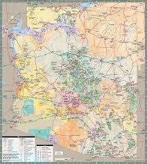 map az arizona state map mesa arizona maps mesa az