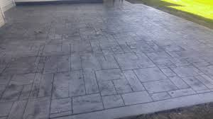Stamped Concrete Patios Pictures by Ashlar Slate Stamped Concrete Patio Architectural Concrete