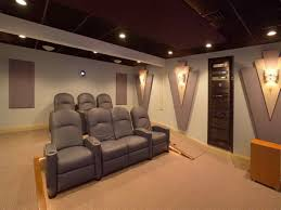 decorating beautiful home theater room with ceiling design full of
