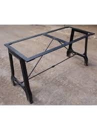 Iron Table Base Forged Iron Table Bases Recuperando