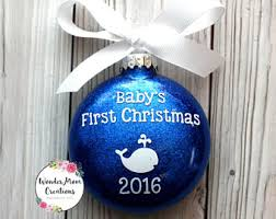 Baptism Christmas Ornament Personalized Baptism Ornament Christening Christmas Ornament