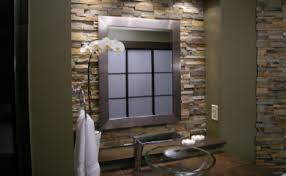 This Is The Stacked Stone Accent Wall I Want In My Bathroom My - Stacked stone veneer backsplash