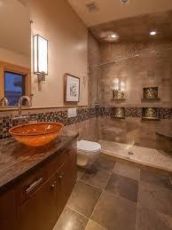 Brown Tiles For Bathroom Exquisite Ideas Brown Tile Bathroom Dazzling Design Modern Style
