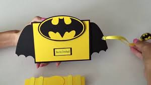 interactive batman 3d invitation youtube