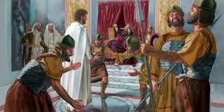 imagenes de jesus ante pilato pilato y herodes consideran inocente a jesús la vida de jesús