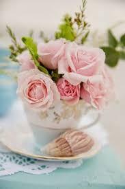 roses teacups morning kávička morning and mornings