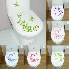 popular wall art stickers for bathroom buy cheap wall art stickers butterfly flower bathroom wall stickers home decor home decoration wall art decals for toilet decal sticker