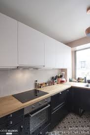 n ociation cuisine schmidt une cuisine avec un sol en carreaux de ciment très déco