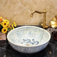 White Vessel Sink Online Get Cheap White Porcelain Vessel Sink Aliexpress Com