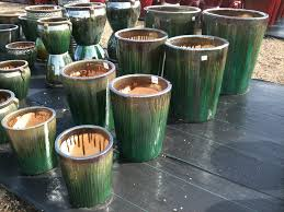 glazed ceramic pots glazed ceramic pots drip glazing tree planters aquatic bowls