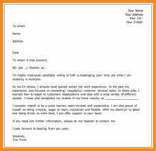 cover letter part time job make a cover letter image collections cover letter ideas