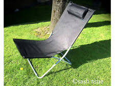 Camping Lounge Chair Camping Lounger Ebay