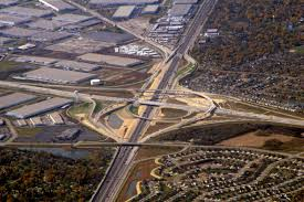 Interchange Road Wikipedia File I 355 And I 55 Interchange From Air Jpg Wikimedia Commons