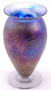 Vintage Hand Blown Glass Vases 538 Best Glass Brilliant Carnival Depression Fenton Mary Gregory