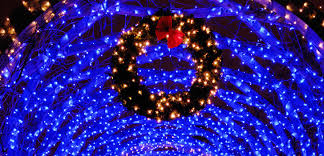 blue christmas lights christmas lights