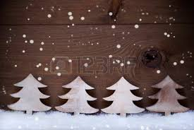 White Wooden Christmas Decorations by Festive Christmas Decoration On White Snow Christmas Ball
