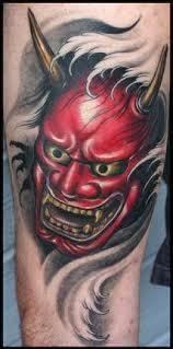 hannya mask samurai tattoo mascara samurai tattoos pesquisa google hannya tattoo