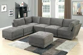 small grey sectional sofa grey microfiber sectional light grey sectional home grey sectional