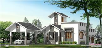 Kerala Home Design Single Floor by Single Floor Home With Separate Car Porch Indian House Plans
