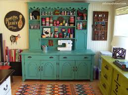 kitschy cute upcycled craft room older u0026 wisor craft storage ideas