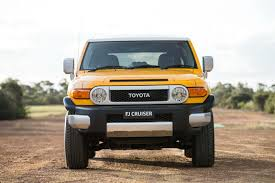 fj cruiser toyota will pull the plug on the fj cruiser in august