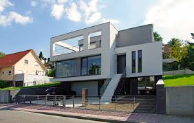 Garageneinfahrt Am Hang Haus Hanglage Modern U2013 Godsriddle Info
