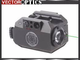 laser and light combo tac vectop optics tactical pistol led flashlight torch green laser