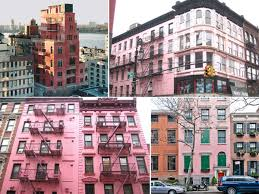 mapping the prettiest of pink buildings in new york city
