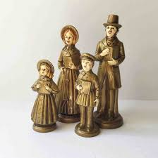 carolers figurines cheminee website