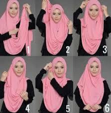 tutorial hijab pashmina kaos yang simple 45 tutorial hijab simple pashmina yang hits dan kekinian hijabyuk com
