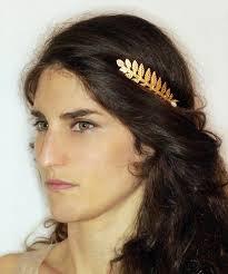 goddess headband athena goddess headband bridal hair accessory