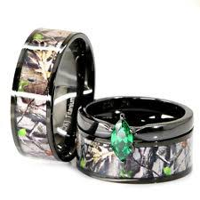 camo wedding rings his and hers his and camo wedding rings wedding corners