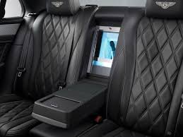 bentley flying spur black interior bentley u0027s mulliner bespoke division features make debut on flying spur