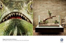 volkswagen print advert by bbdo iguana ads of the world