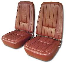 1968 corvette seats 1968 corvette leather seat covers