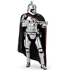 hallmark wars the awakens captain phasma
