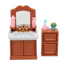 Bathroom Furniture Sets Diy Miniatures Bedroom Bathroom Furniture Sets For Sylvanian