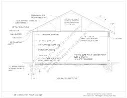 free pdf plan download 26 u0027 x 48 u0027 screen porch office bedroom
