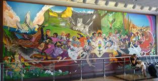art at dia denver international airport denver airport and denver denver airport murals denver mural7