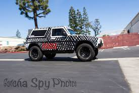 Fords New Bronco Spied Next Generation Ford Bronco To Use Jeep Wrangler Platform