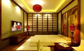 japanese themed bedroom home design