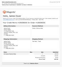comprehensive list of magento transactional emails and their designs