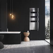 eventon 1200 heated towel rail chrome easy bathrooms