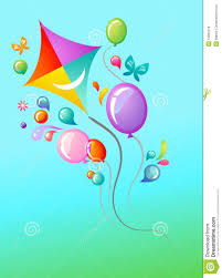 kite and balloons template royalty free stock photos image 13802218