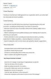Reference Sample Resume by Awesome Collection Of Sample Resume Of Hr Executive Also Reference