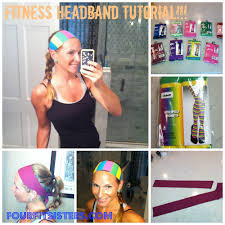 yoga headband tutorial four fit sisters headband tutorial and giveaway