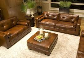 furniture lazy boy brown leather sofa